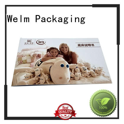 Welm brochure printing manufacturer for business