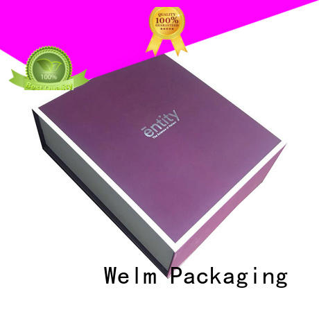 Welm rectangular jewelry gift box manufacturer for sale