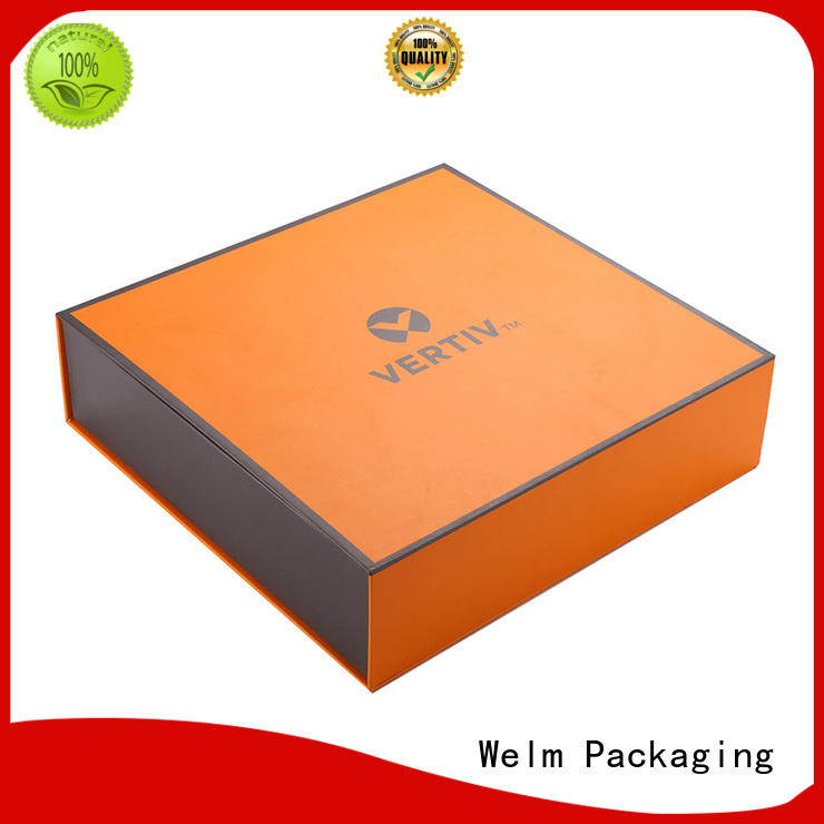 white magnetic gift box magnetic for Welm