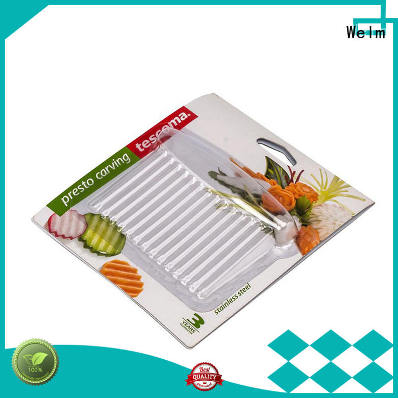 Welm superior quality pet blister packaging supermarket fruit display for mouse packaging