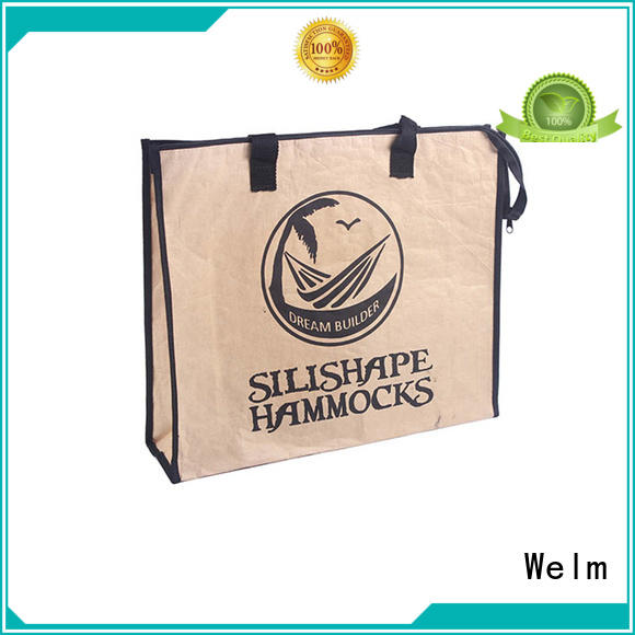 Welm black brown paper snack bags suppliers for shopping