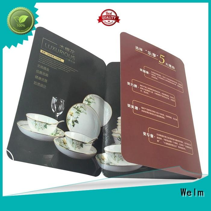 Welm high-quality 11x17 glossy brochure paper supply for business
