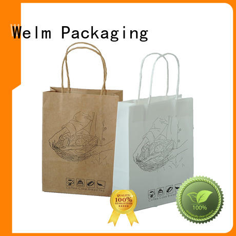 popcorn paper bag manufacturers with die cut handle for sale