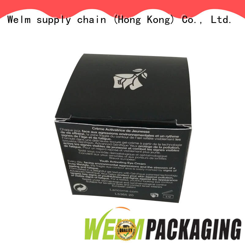 silver custom cosmetic packaging boxes customized for lip stick