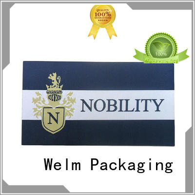 product label printing brand bottle Welm