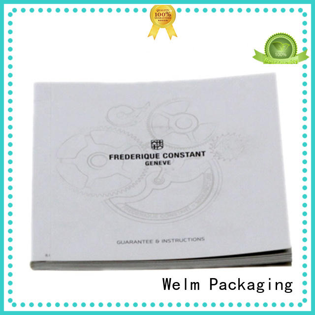 Welm paper cheap brochure printing manufacturer for business