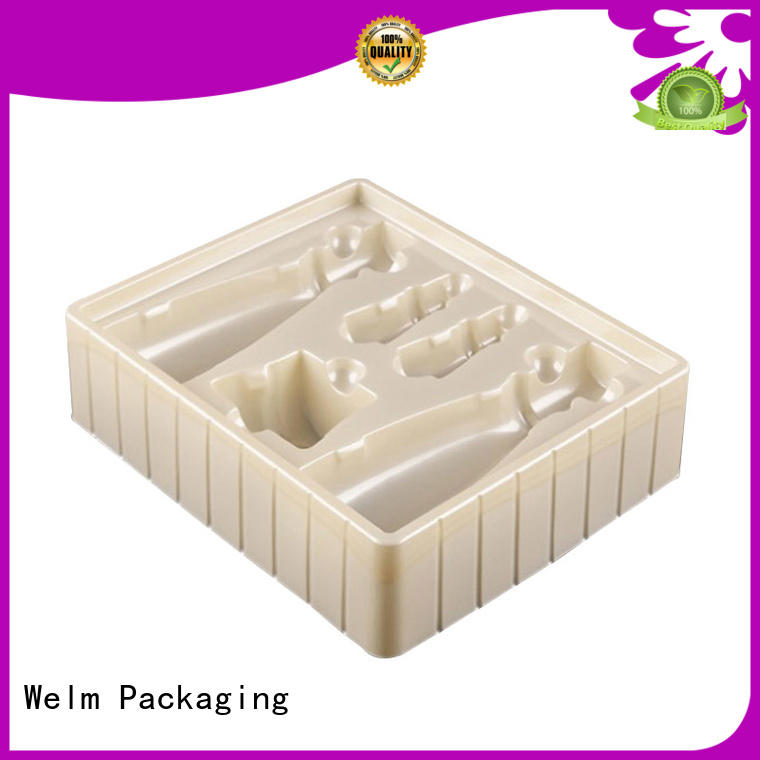 Welm wheels foil blister packaging supply for cosmetics and toy
