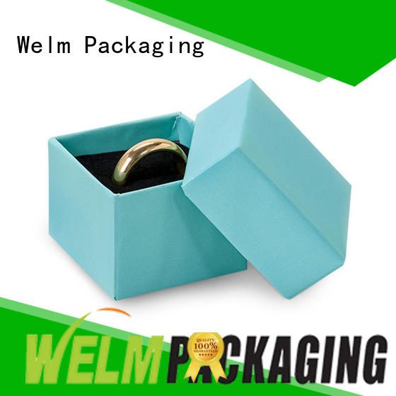 high end jewelry gift box self closure for ear ring Welm