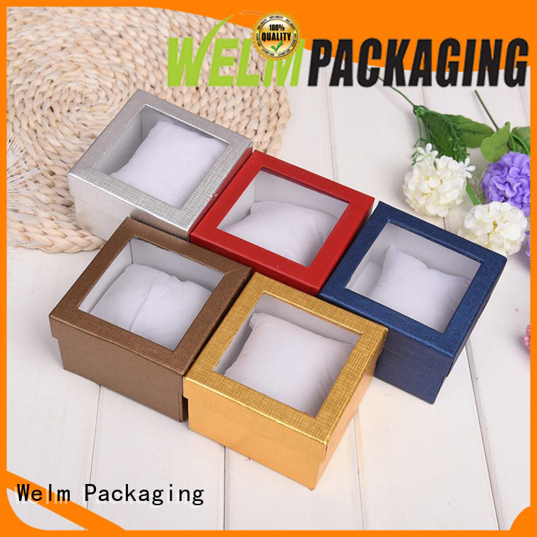 Welm folding clear jewelry packaging company for food