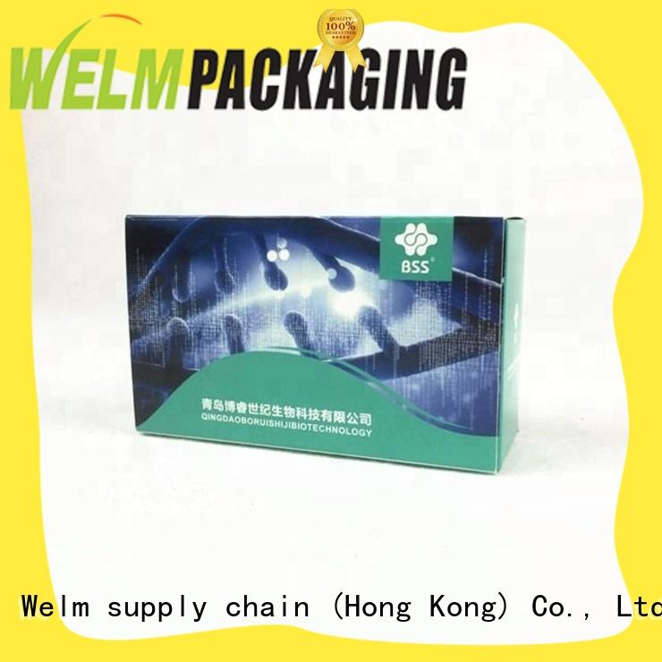 medication packaging for facial cosmetic Welm