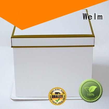 Welm donut disposable meal box manufacturers for gift