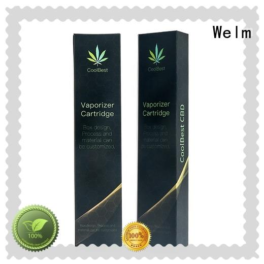Medical  CBD THC Safety Paper Packaging Box for Syringe