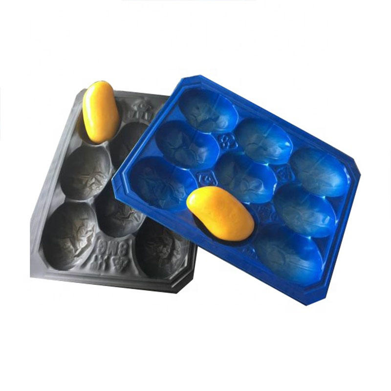 Blister Packaging Disposable Plastic Supermarket Fruit Display Tray Liner