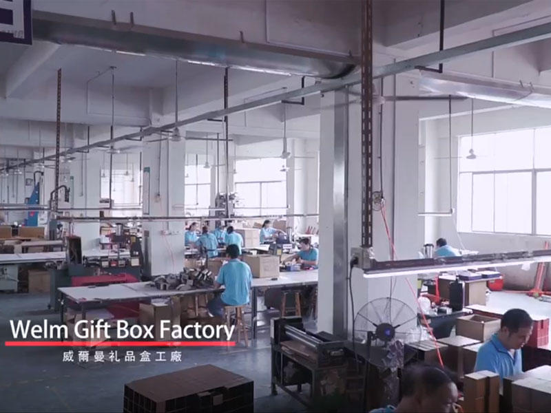 Gift box video introduction