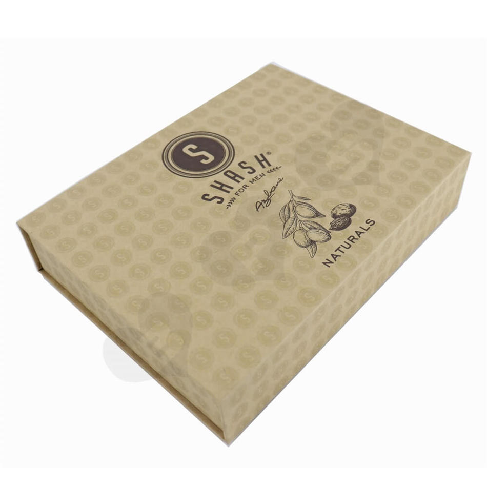 Essential Oil Gift Box Packaging Essential Oil Box Magnetic Gift Box For Essential Oil Brown Natural Printing
