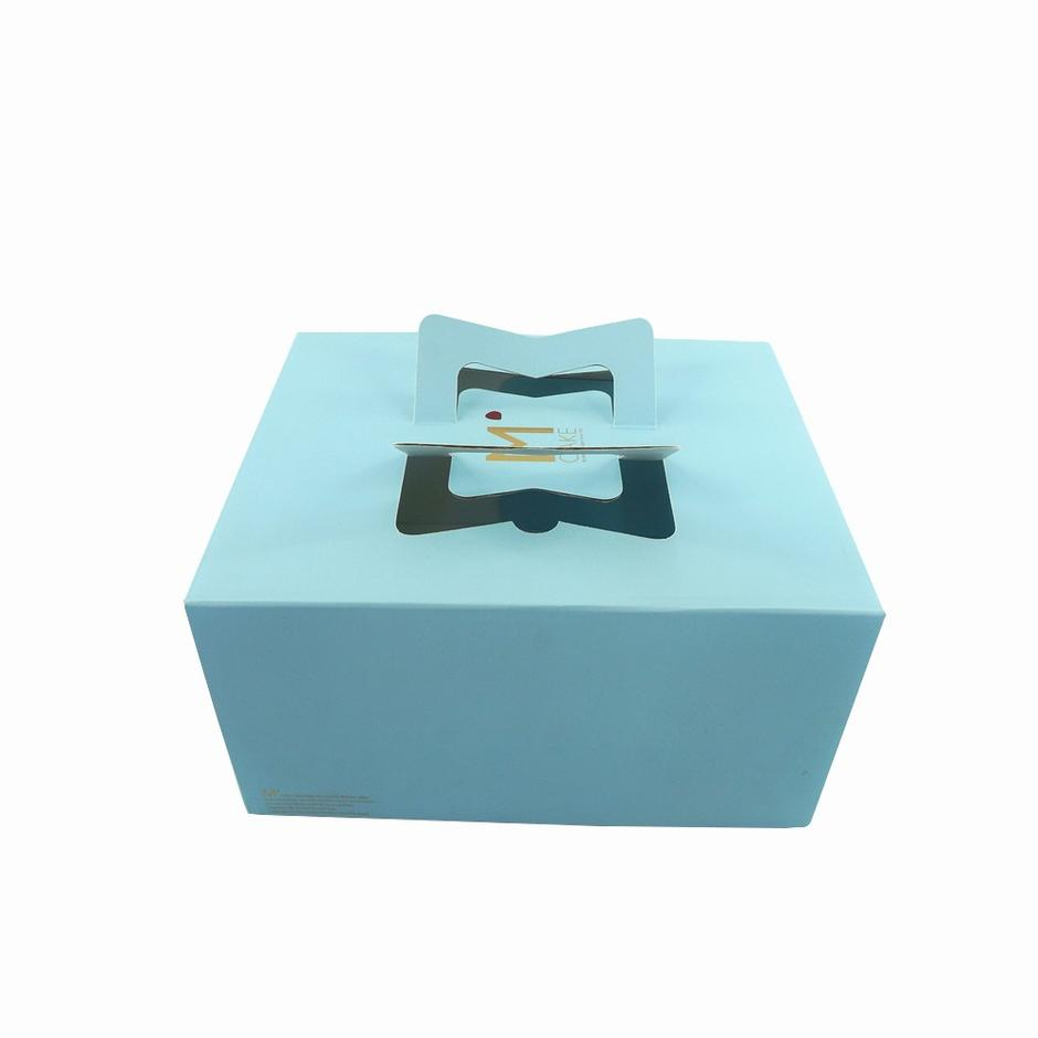 Custom Design Print  Birthday Cake Box with Plastic Window