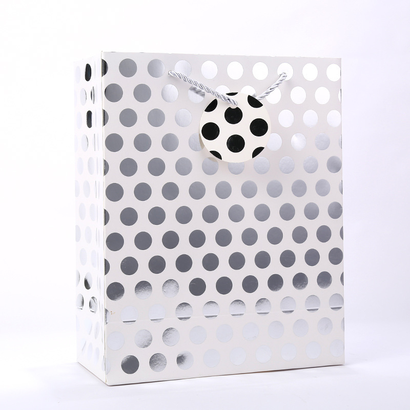 craft checkered paper bags ziplock factory for shopping-9