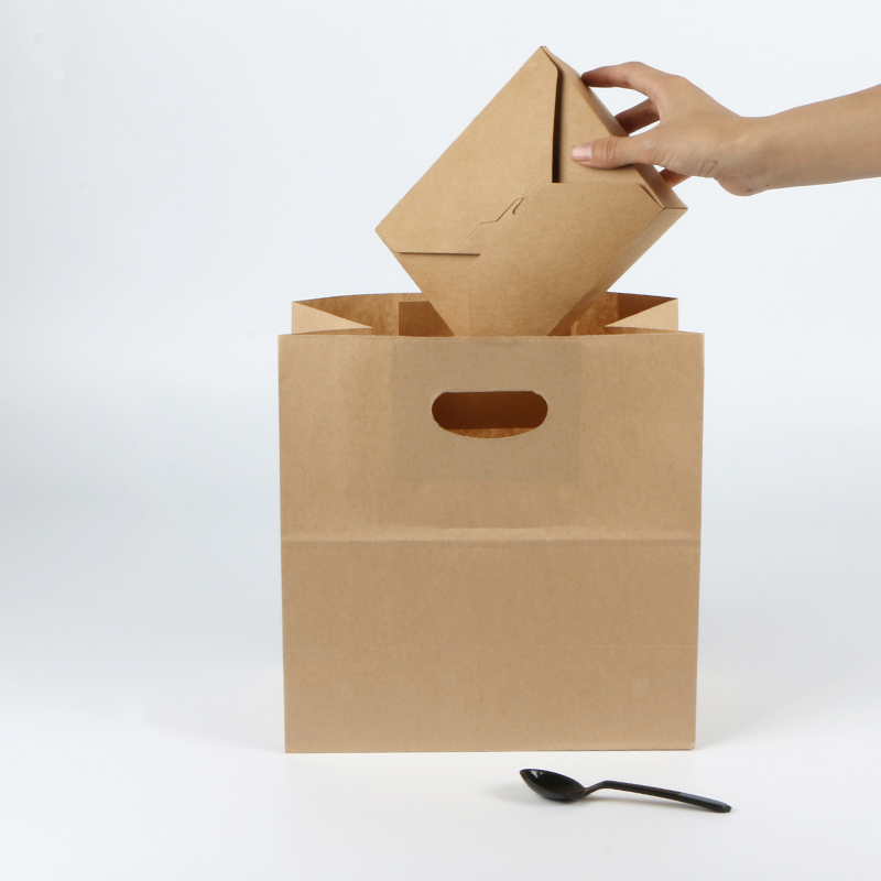 woven the paper bag store waterproof manufacturers for gift shopping-1