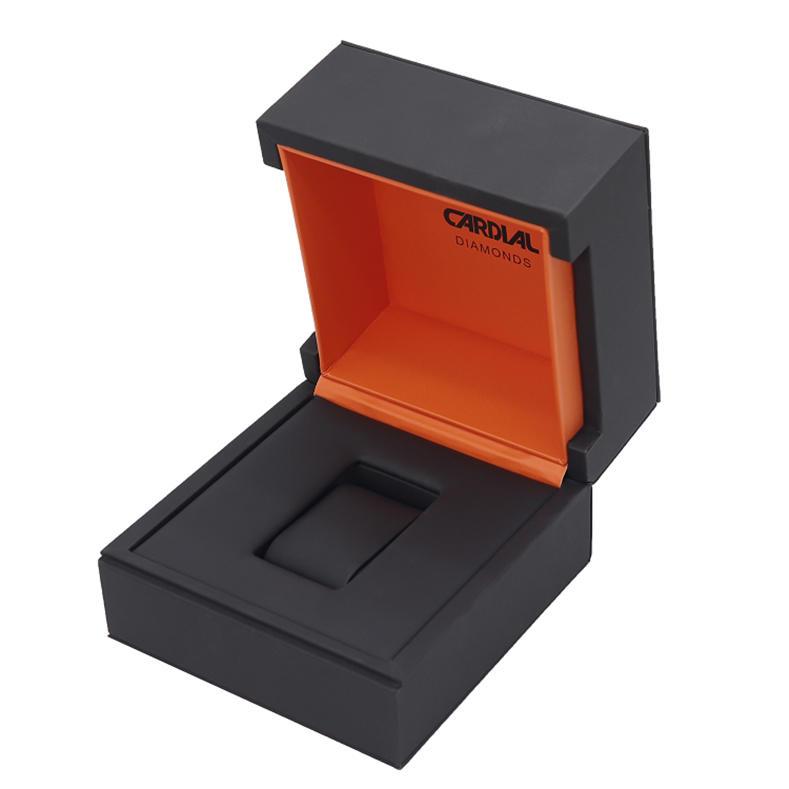 Custom Logo Modern Luxury Single Paper Cardboard Wrist Watch Box