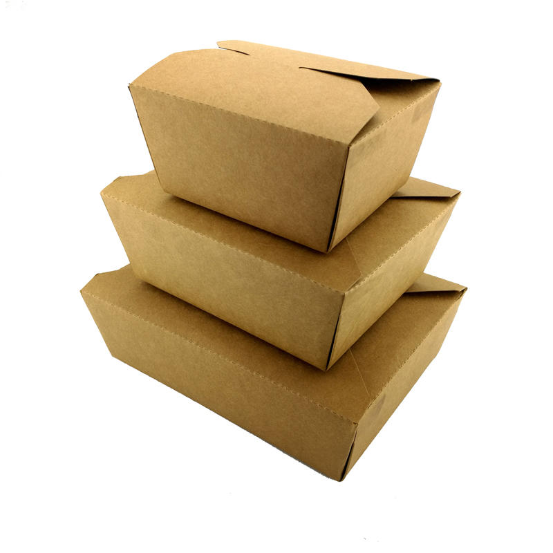 Customized High Quality Kraft Paper Food Packaging Box