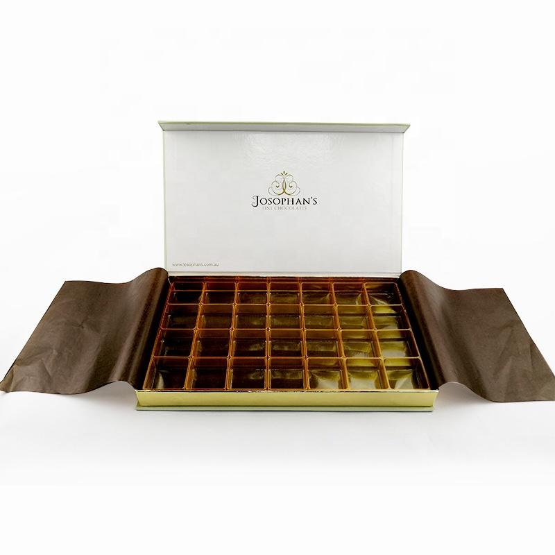 Christmas Food Paper Packaging High Quality Luxury Chocolate Box