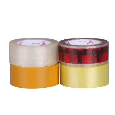 Custom Crystal Super Clear Transparent BOPP Adhesive Tape For Packing Carton