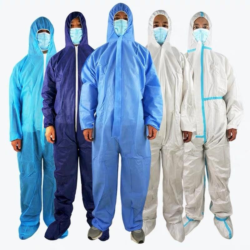 High quality Disposable Lightweight Medical Coverall Surgical Hospital Protective Clothing