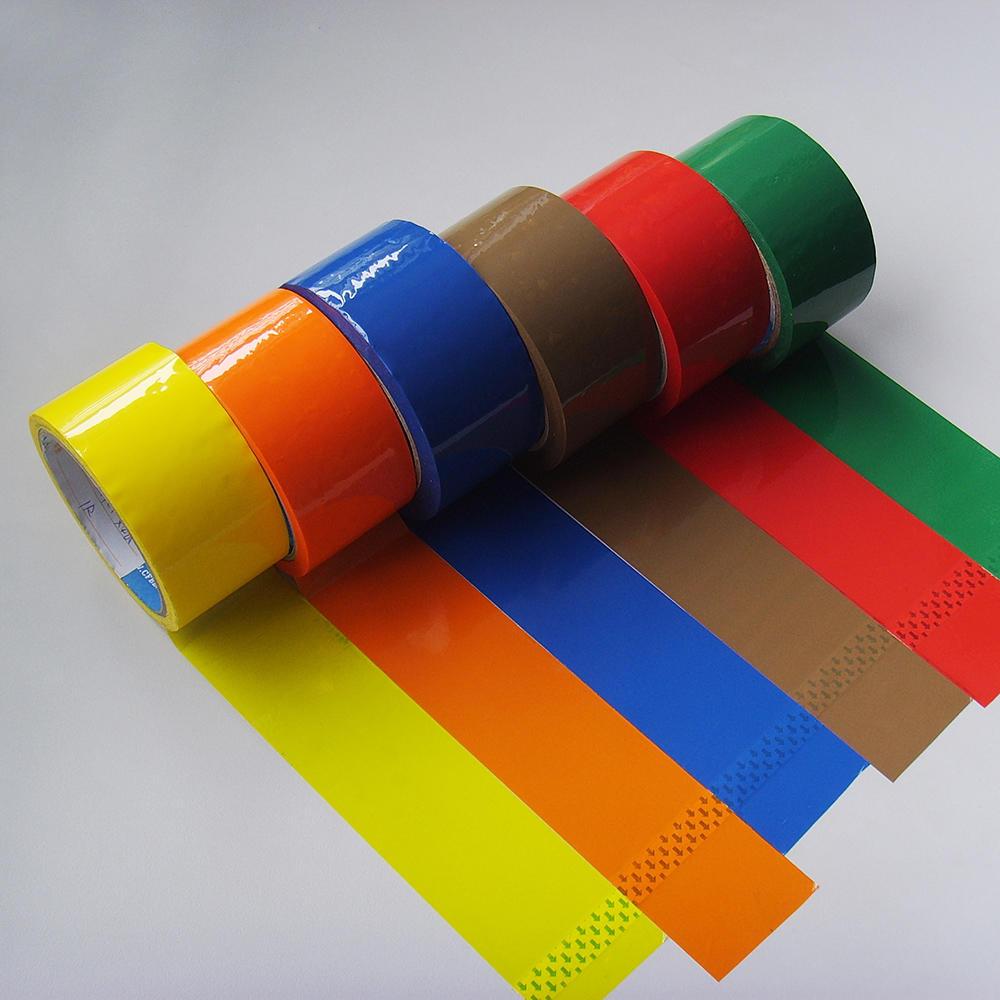 Color BOPP packaging transparent tape