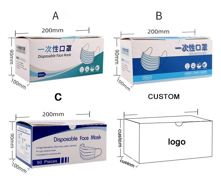 pharmaceutical boxes internal supply for facial cosmetic