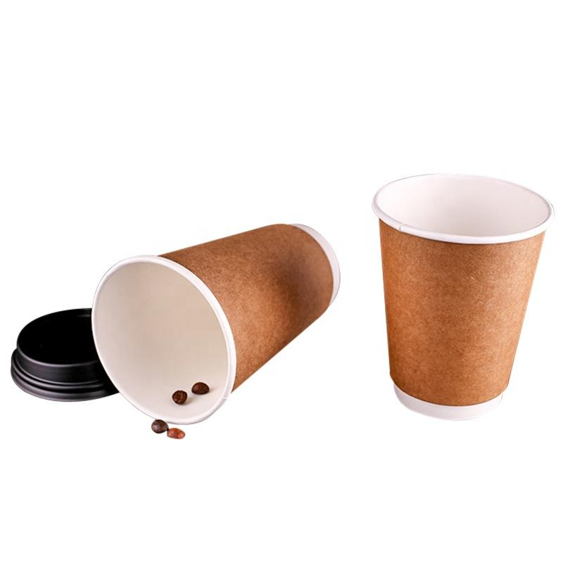 High Quality Disposable Cold Drink Double Wall Coffee Paper Cup