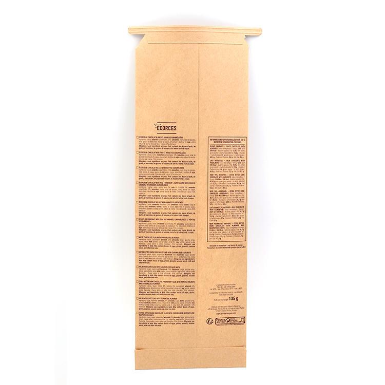 Custom Design Printed Bakery French Kraft Paper Packaging