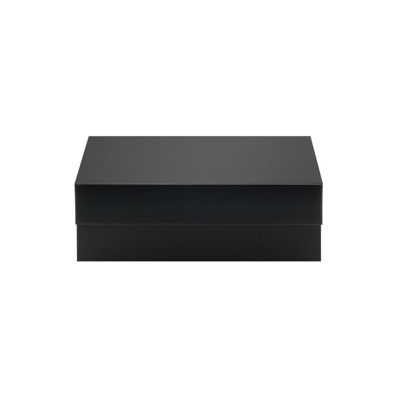 Black Color Magnetic Folding Gift Box For Packaging