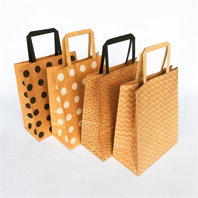 Welm dried plastic and paper bags supply for shopping-5