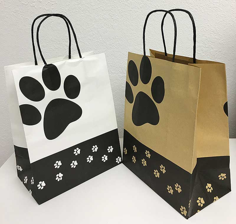 Welm greaseproof brown paper bag material for gift shopping-3