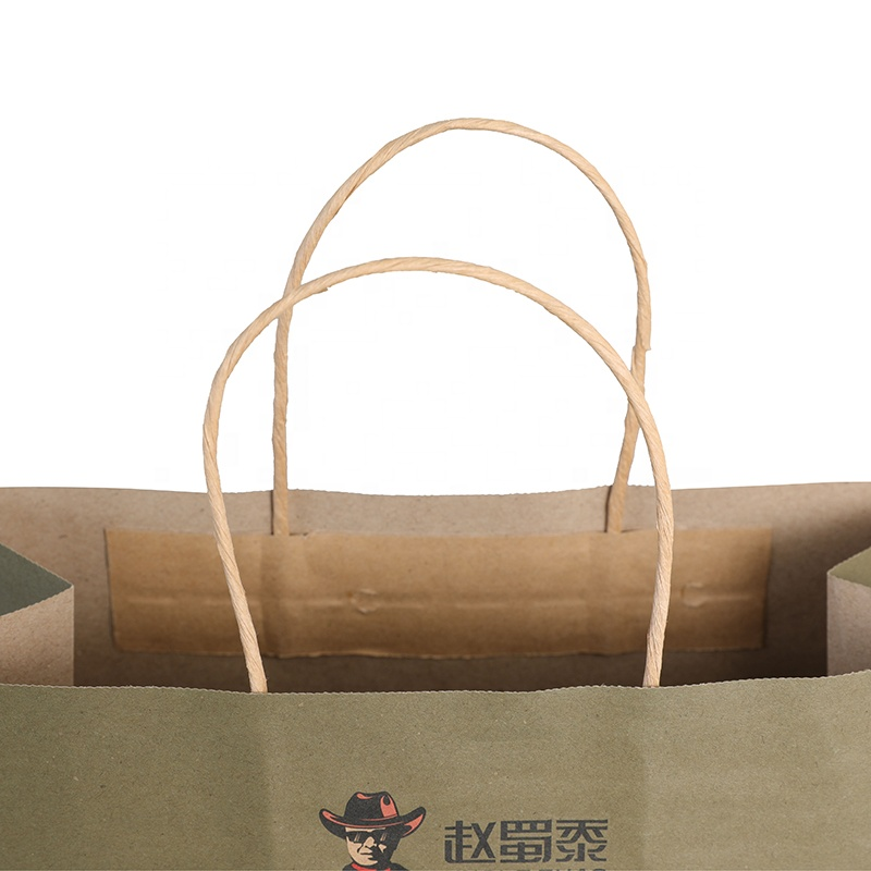 brown paper bag shop pink for business for sale-3
