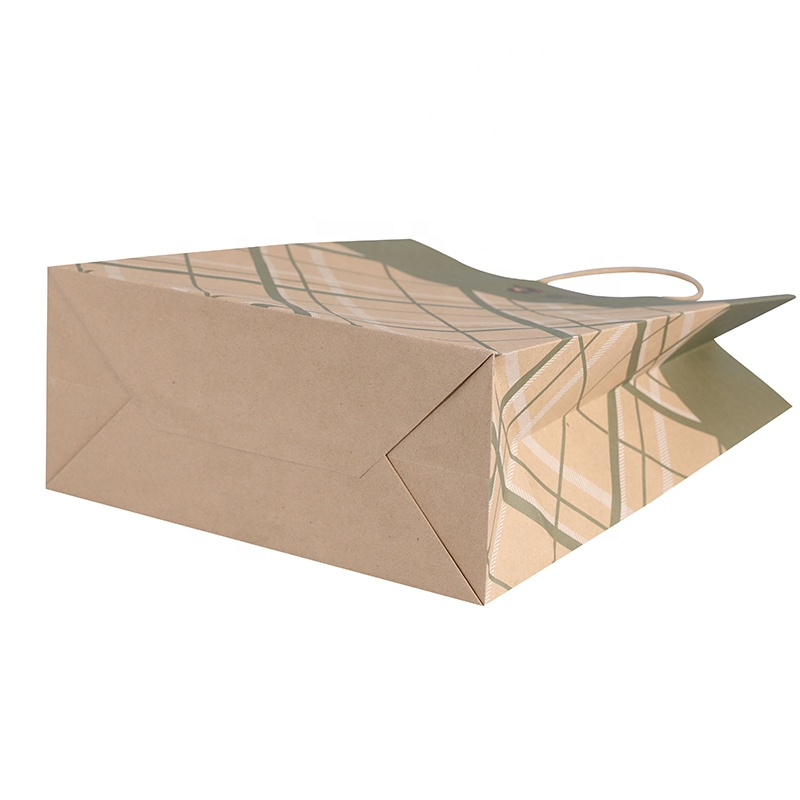 brown paper bag shop pink for business for sale-4