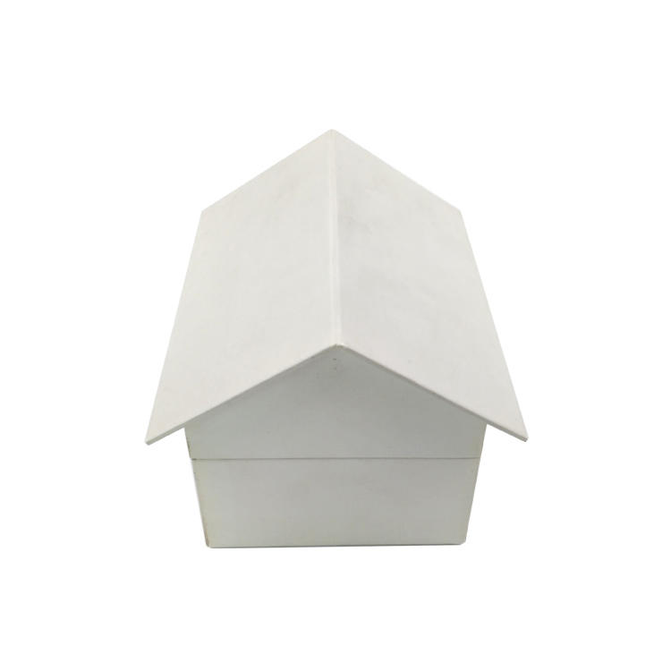 House shape gift box luxury paper box for gift packaging