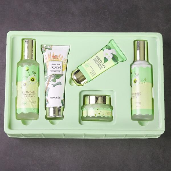 PET PVC Colorful PVC Blister Tray for Skin Care Products Packaging