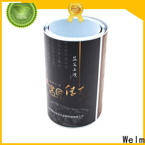 Welm postage shipping label stickers manufacturer for bottle
