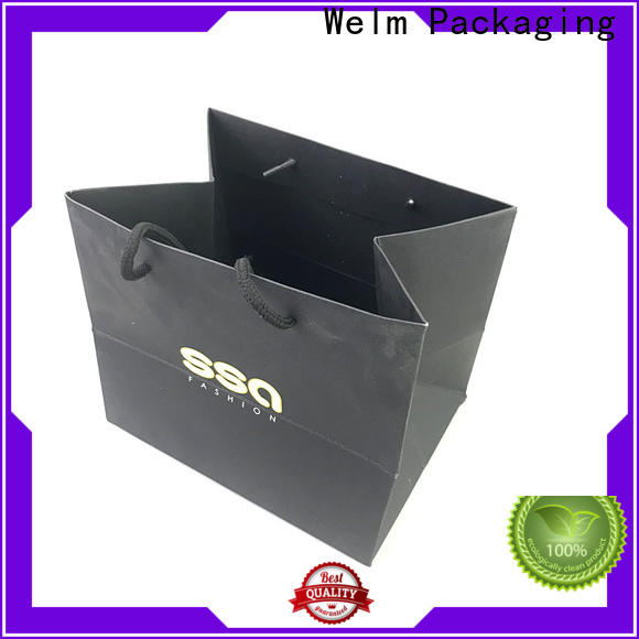 popcorn small colored paper bags cut with gold logo print for gift shopping