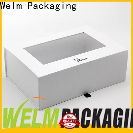 Welm quality magnetic gift box manufacturers online