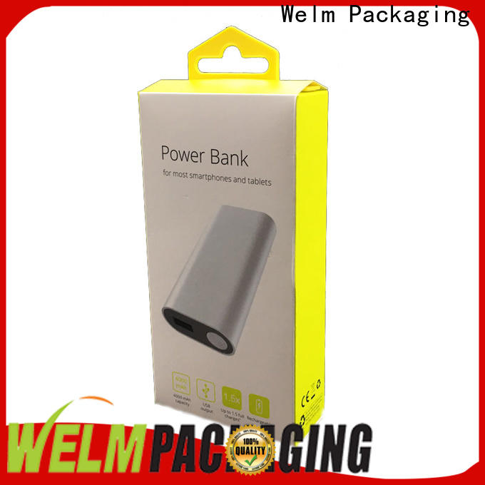 Welm shaver simple packaging factory for power bank