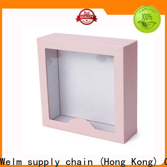 Welm paper wholesale packaging boxes for storage