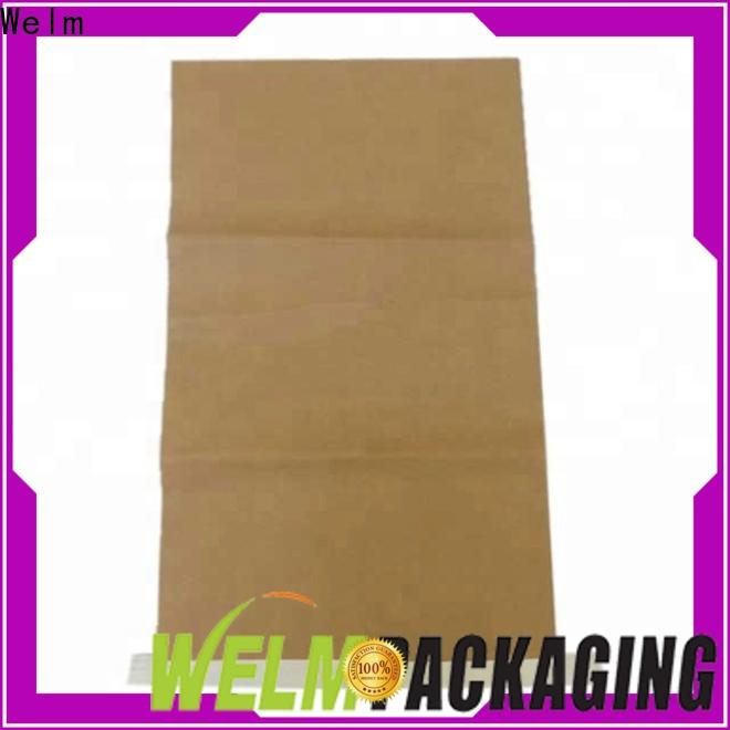 Welm top colored paper lunch bags for business for sale