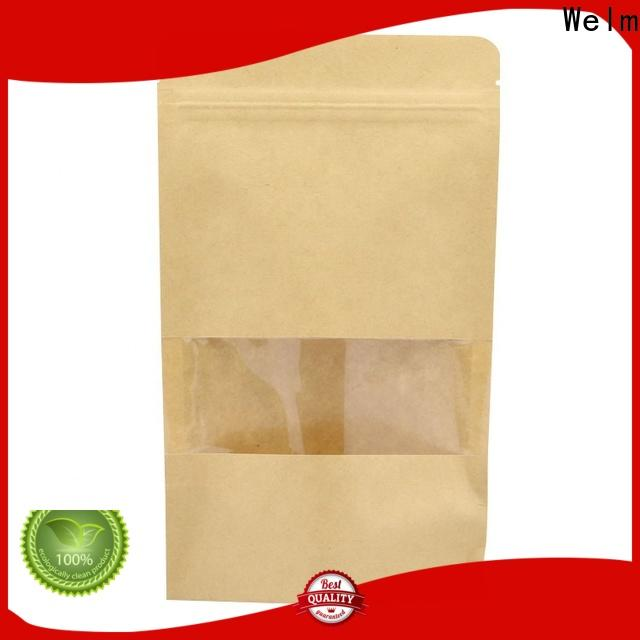Welm ziplock giant brown paper lunch bags supply for sale