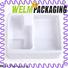 ziplock custom packaging shiny cardboard for food