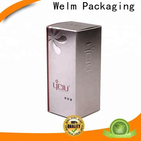 Welm customized cosmetic boxes wholesale supplier for sale