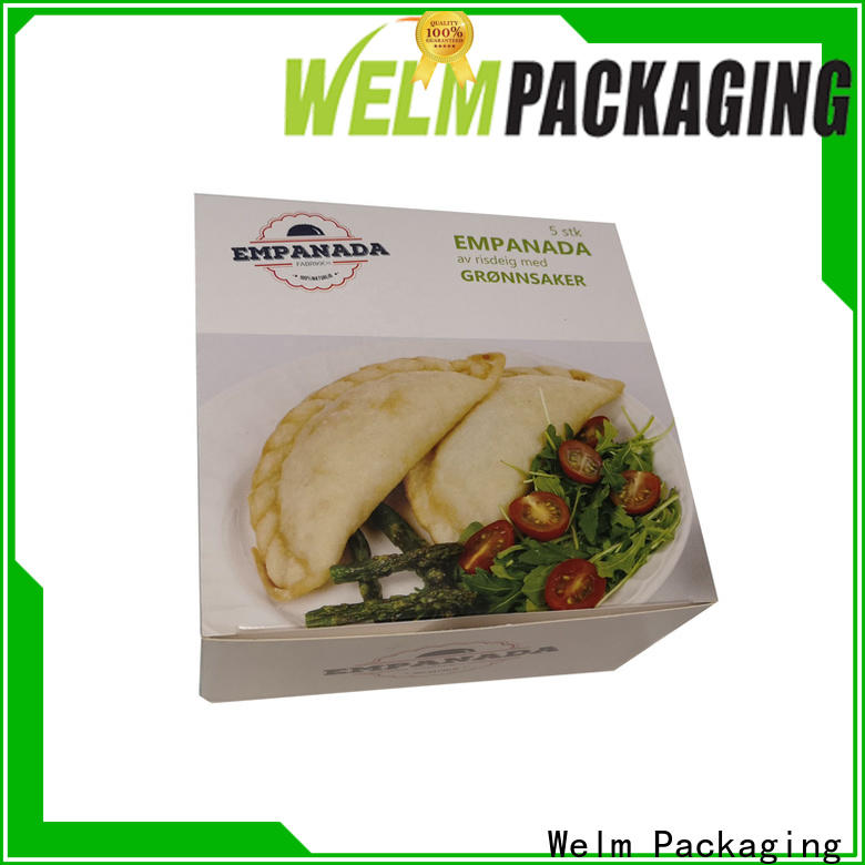 Welm frozen innovative food packaging for business for pet food