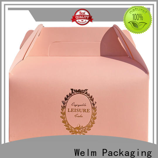 Welm latest food tray box manufacturers for food