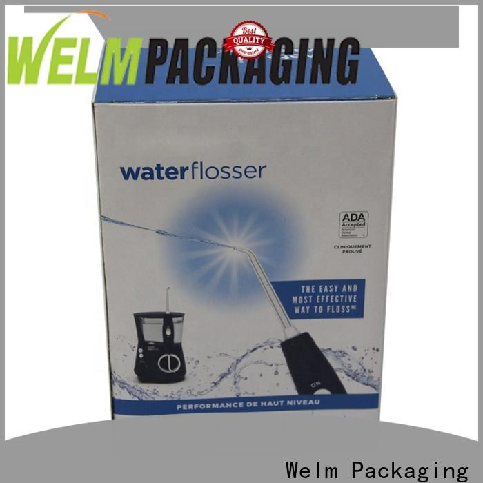 Welm luxury types of packaging boxes for sale